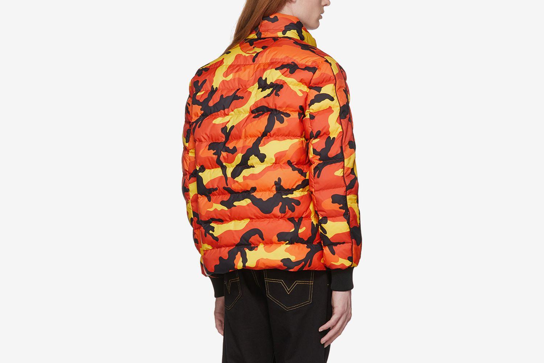 Camo Down Jacket
