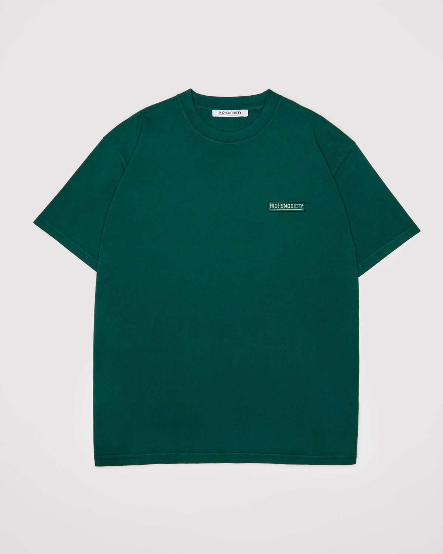 Highsnobiety Staples — T-Shirt Green - Image 1