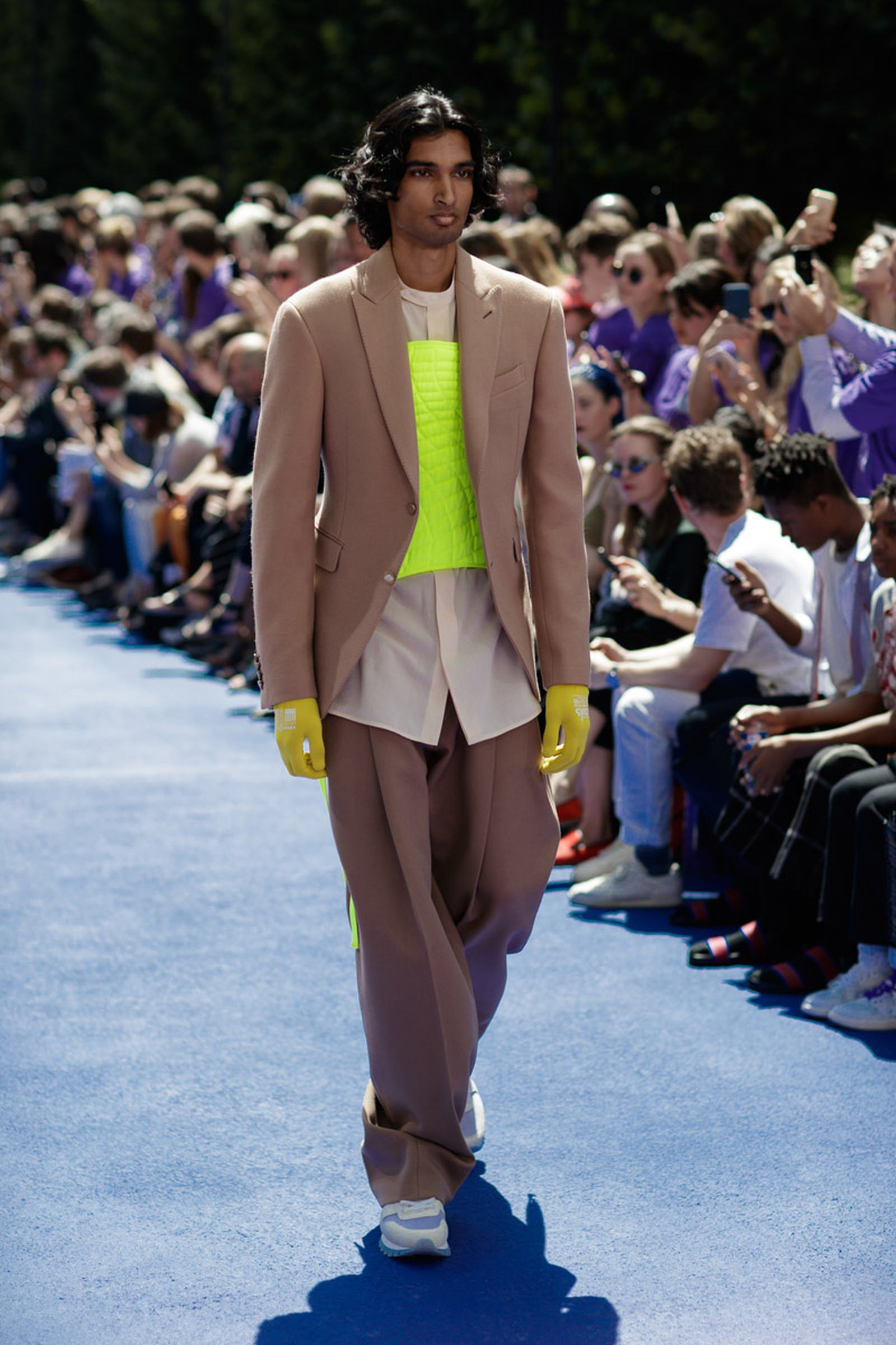 tailoring making comeback heres Balenciaga Louis Vuitton celine