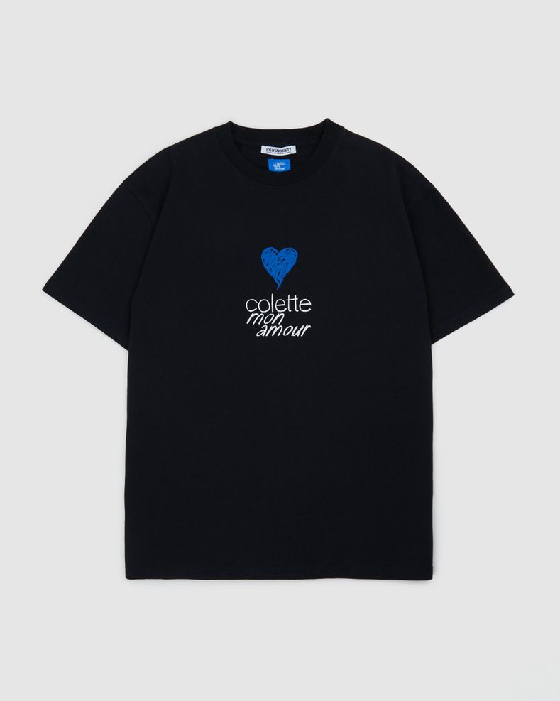 Colette Mon Amour — Heart T-Shirt Black