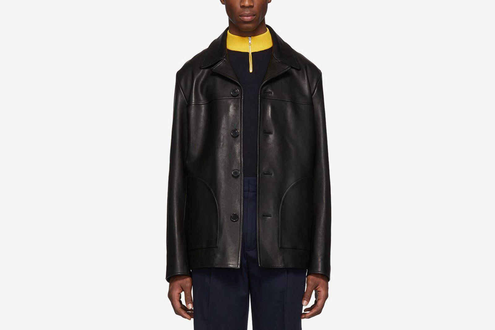 leather jackets main Acne Studios OFF-WHITE c/o Virgil Abloh Zara