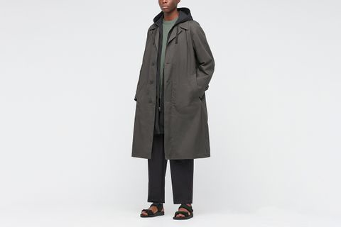 Single-Breasted Trench Coat