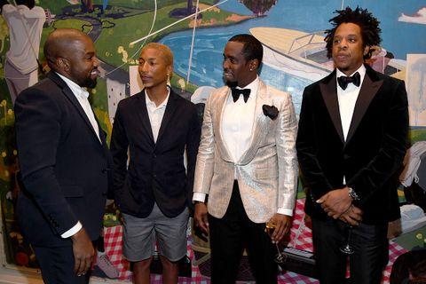Kanye, Pharrell, Diddy & JAY-Z