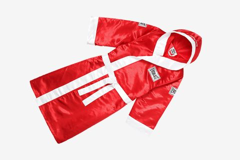 Satin Hooded Boxing Robe