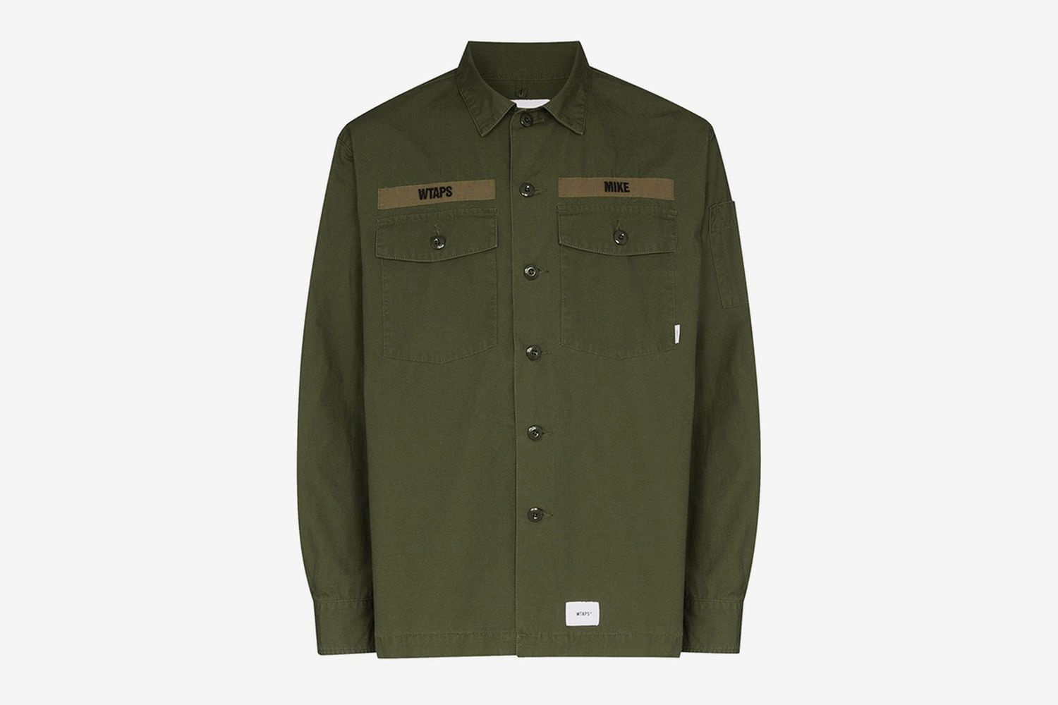 Buds Logo-Print Shirt Jacket