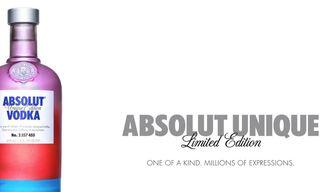 ABSOLUT UNIQUE – 4 Million Unique Bottles
