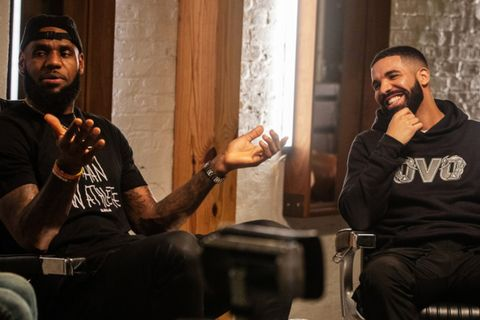 51697f59e5ab Drake Spills Everything on His Relationship With Kanye West to LeBron James