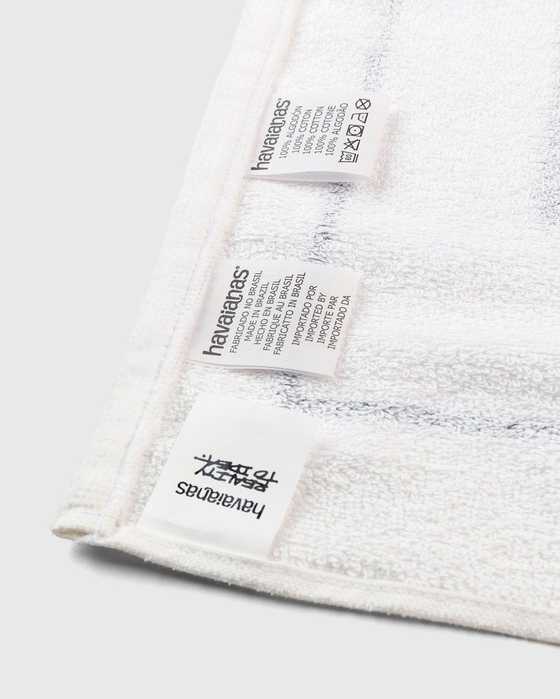 Havaianas x Reality to Idea by Joshuas Vides – Towel White - Image 5