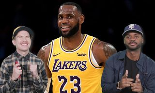 'Ball Boyz' React to LeBron James Wearing a Colin Kaepernick x Nike Tee