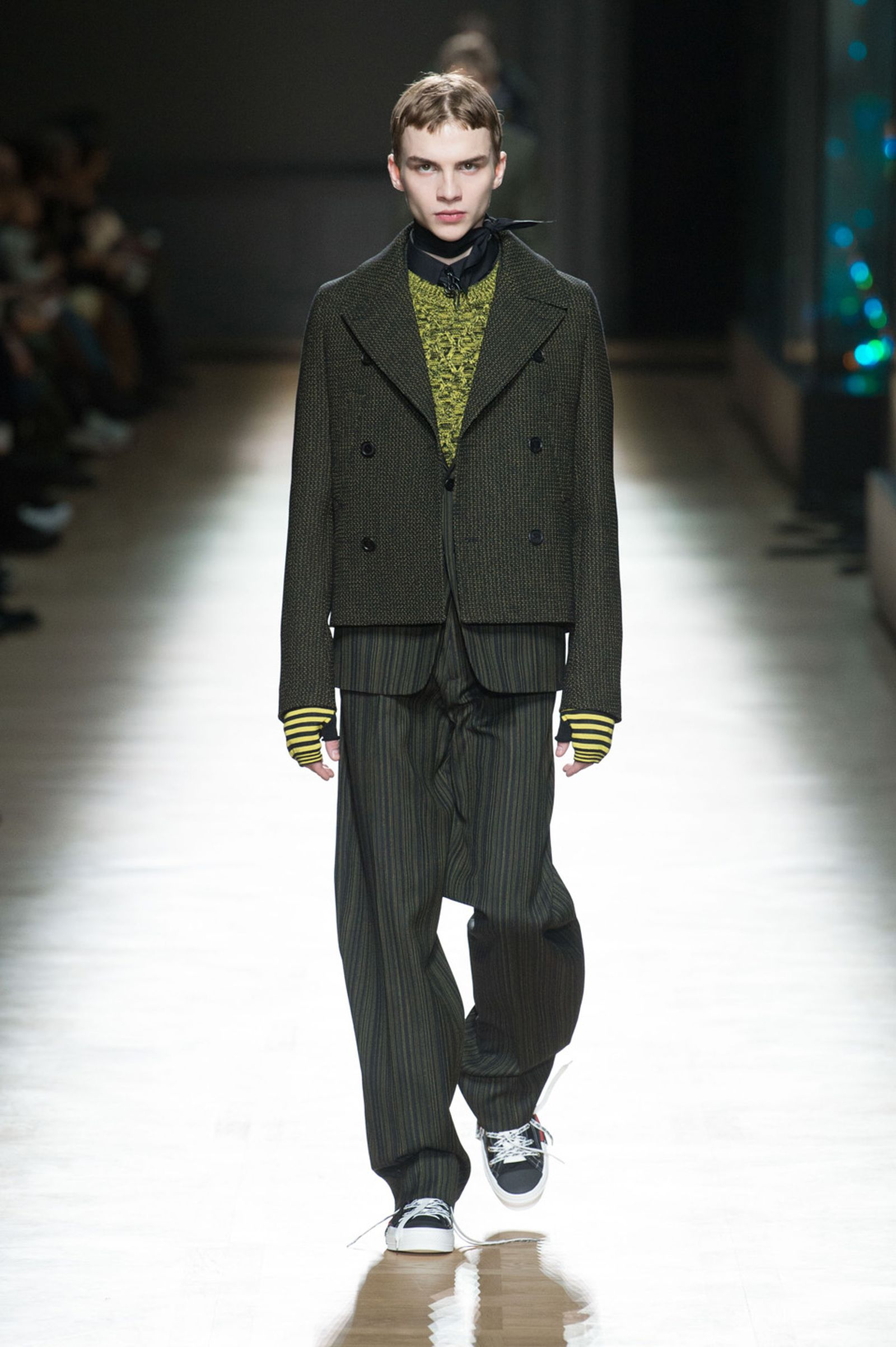 DIOR HOMME WINTER 18 19 BY PATRICE STABLE look38 Fall/WInter 2018 runway