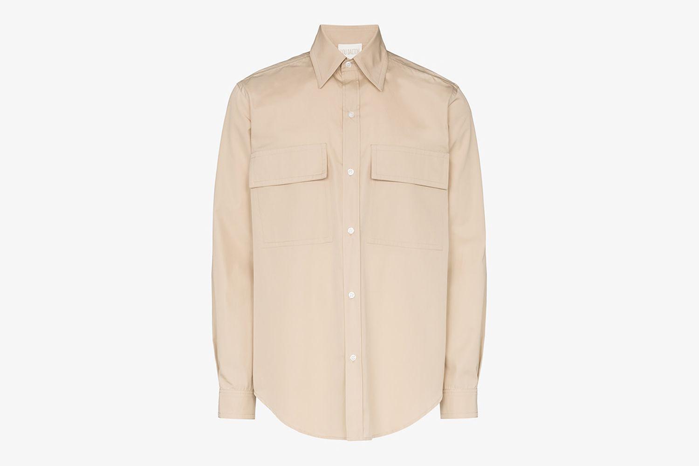 Utility Cotton Shirt