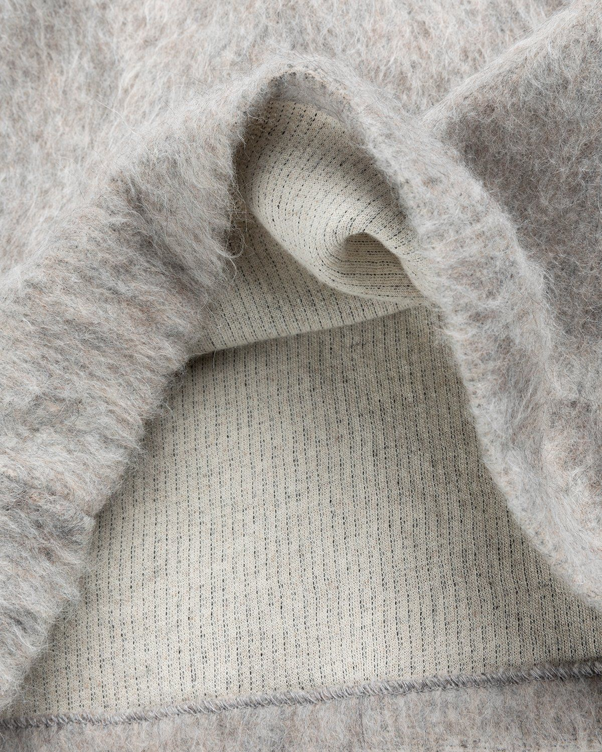 Our Legacy - Double Lock Sweater Grey Alpaca - Image 5