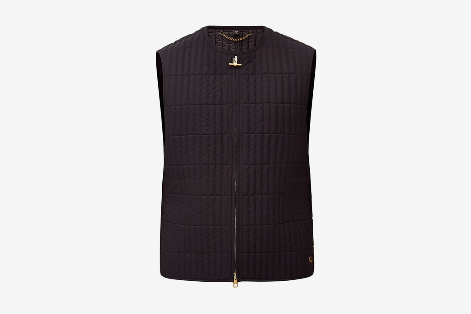 Rolla Two-Way Zipped Quilted Gilet