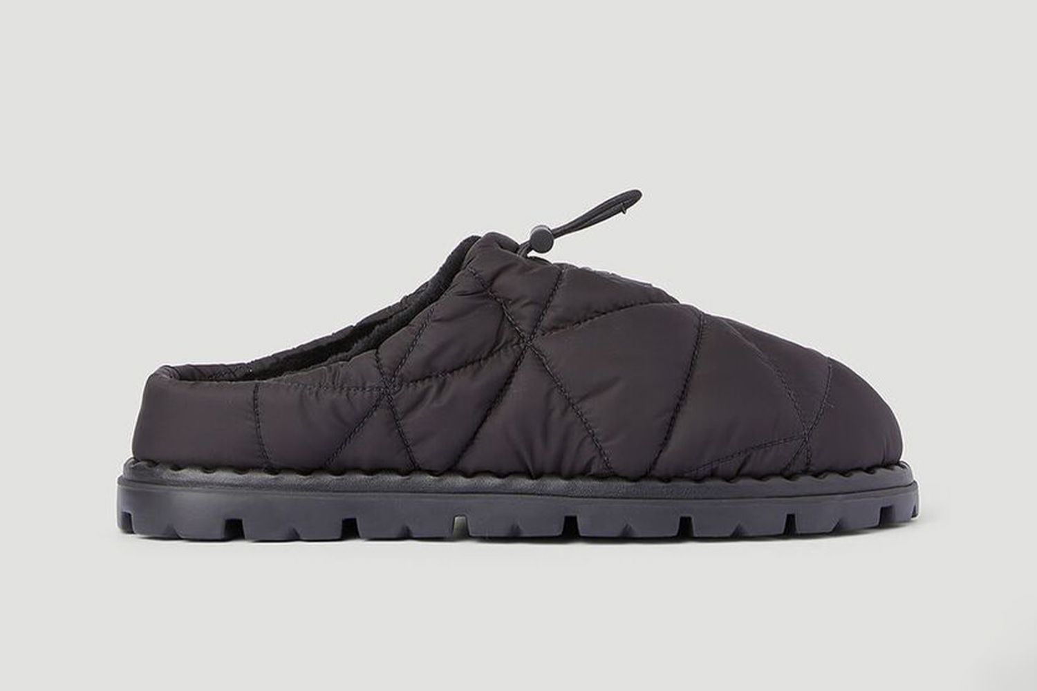 Re-Nylon Quilted Mules