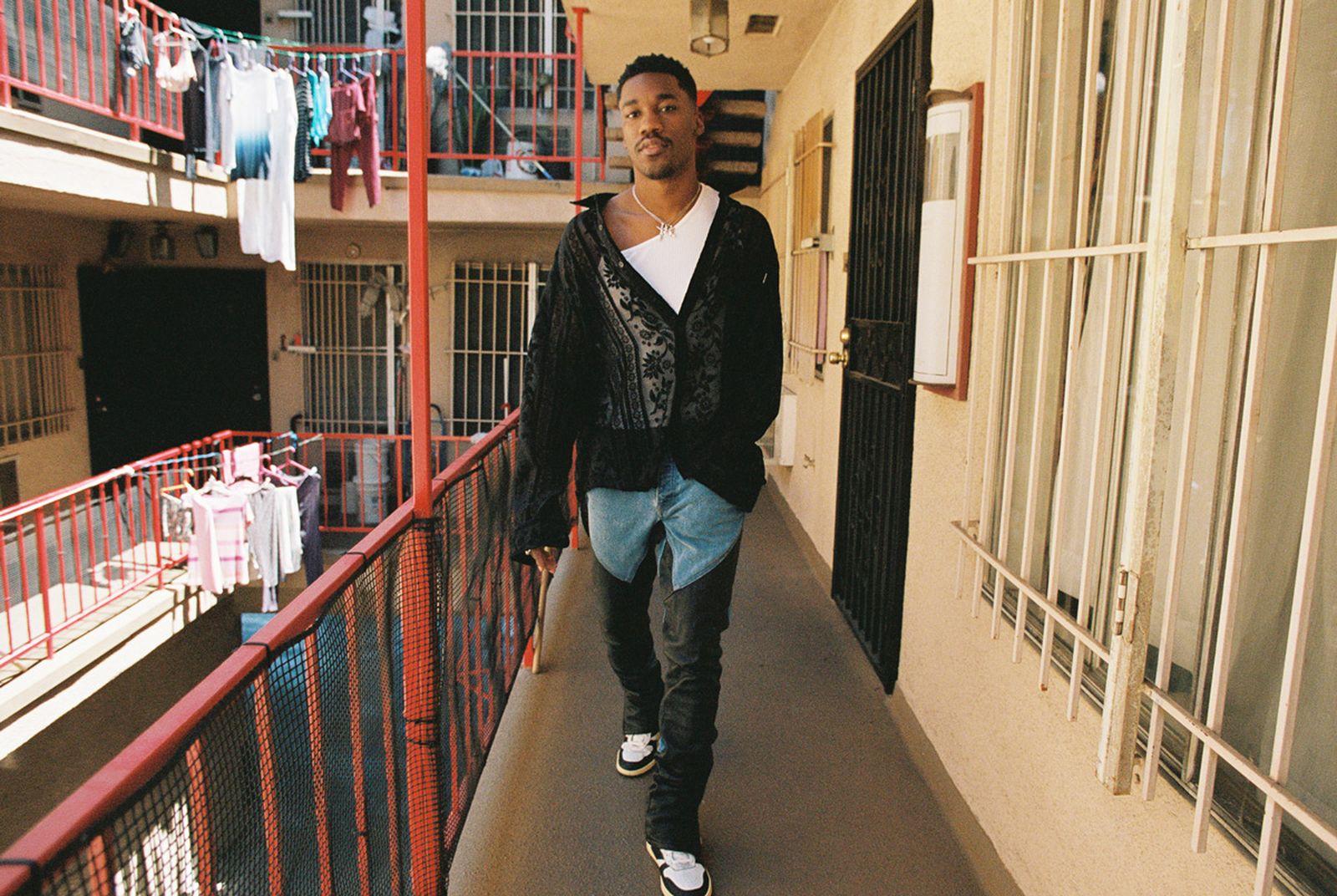Shirt NOON GOONS Pants and jeans RHUDE tank SPENCER BADU