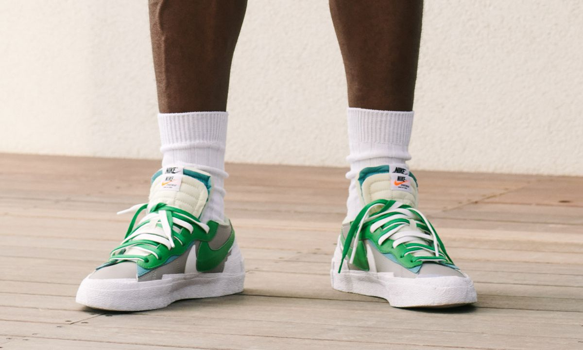 sacai x Nike Blazer Low & Vapor Waffle: Official Images & Info