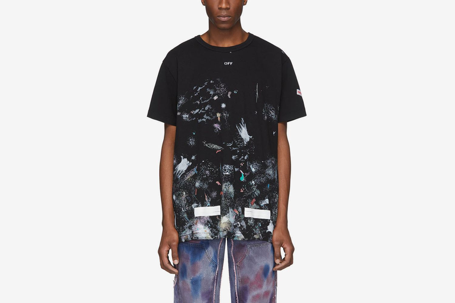 SSENSE Exclusive Galaxy Brush T-Shirt