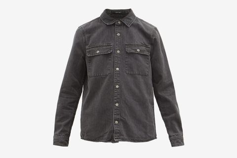 Showcase Washed-denim Shirt