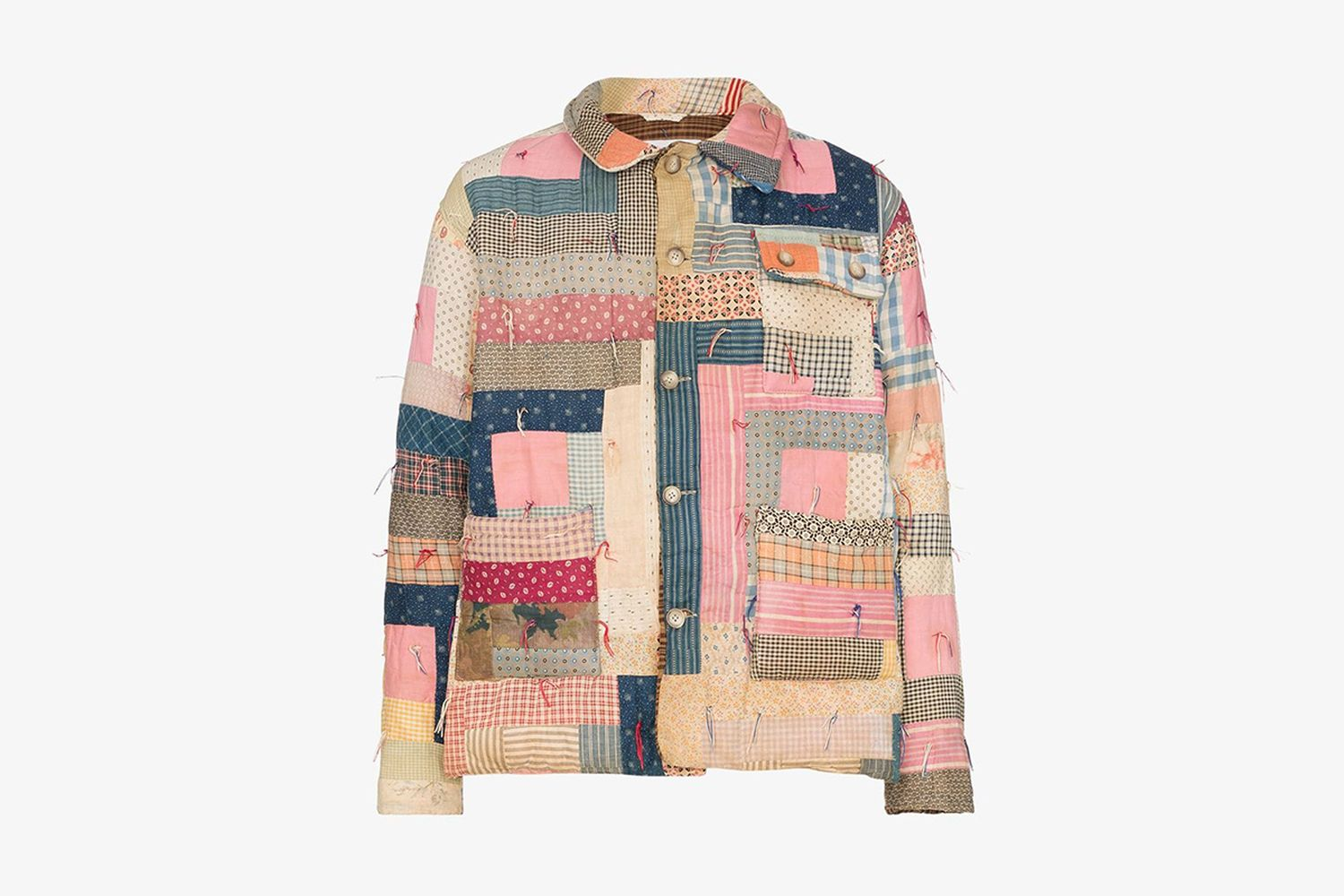 Patchwork Workwear Jacket