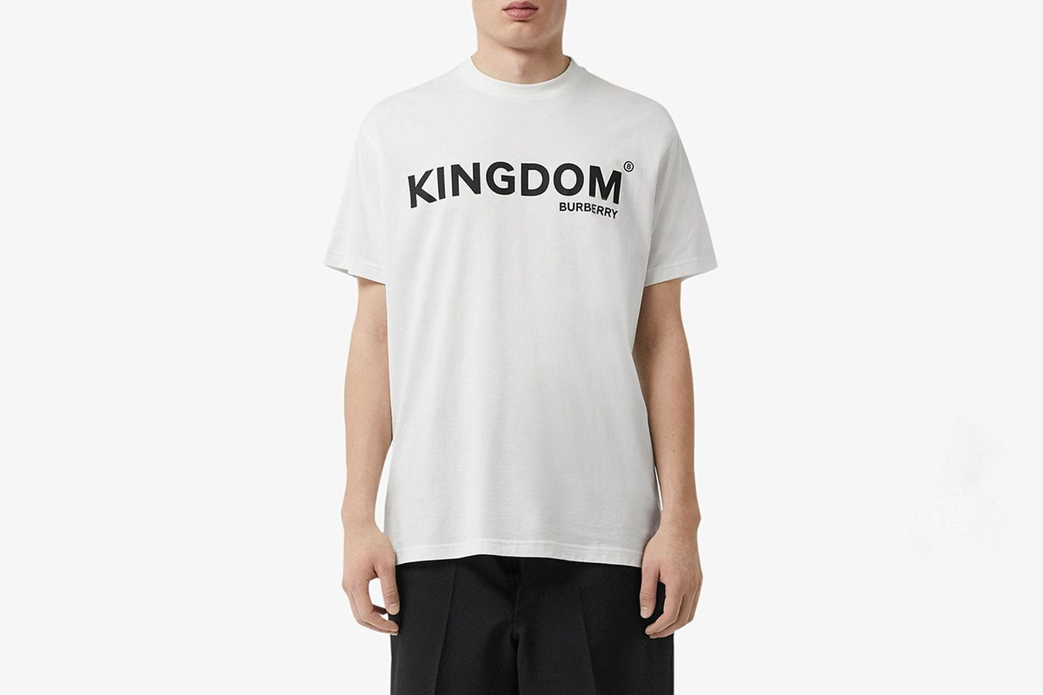 Kingdom Print Cotton T-shirt