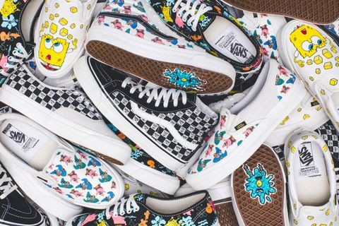 outlet store 36719 546a0 SpongeBob to Supreme  How Vans Became the Brand That Can Do No Wrong