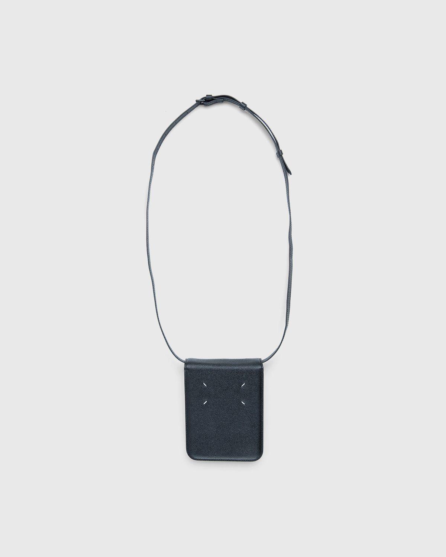 Maison Margiela – Small Leather Chest Pack Black - Image 2