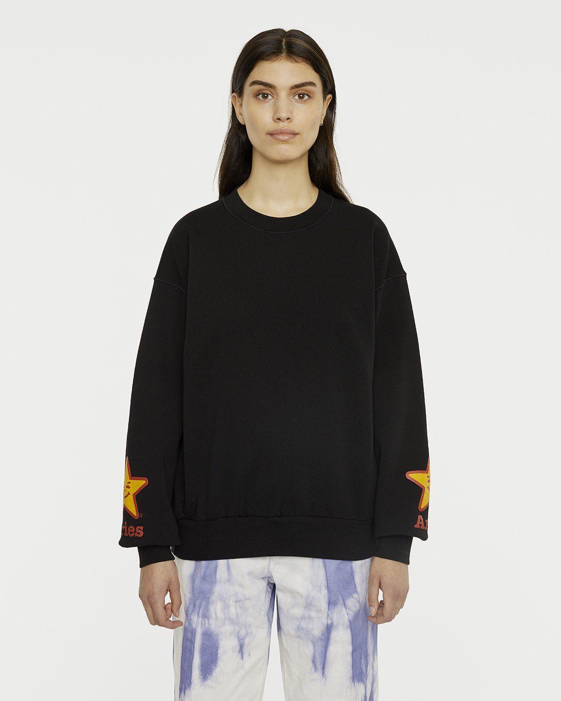 Aries - Fast Food Sweatshirt Black - Image 4