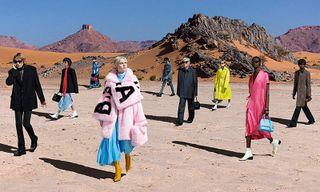 Balenciaga Journeys to the Moroccan Desert for Fall 2019 Campaign