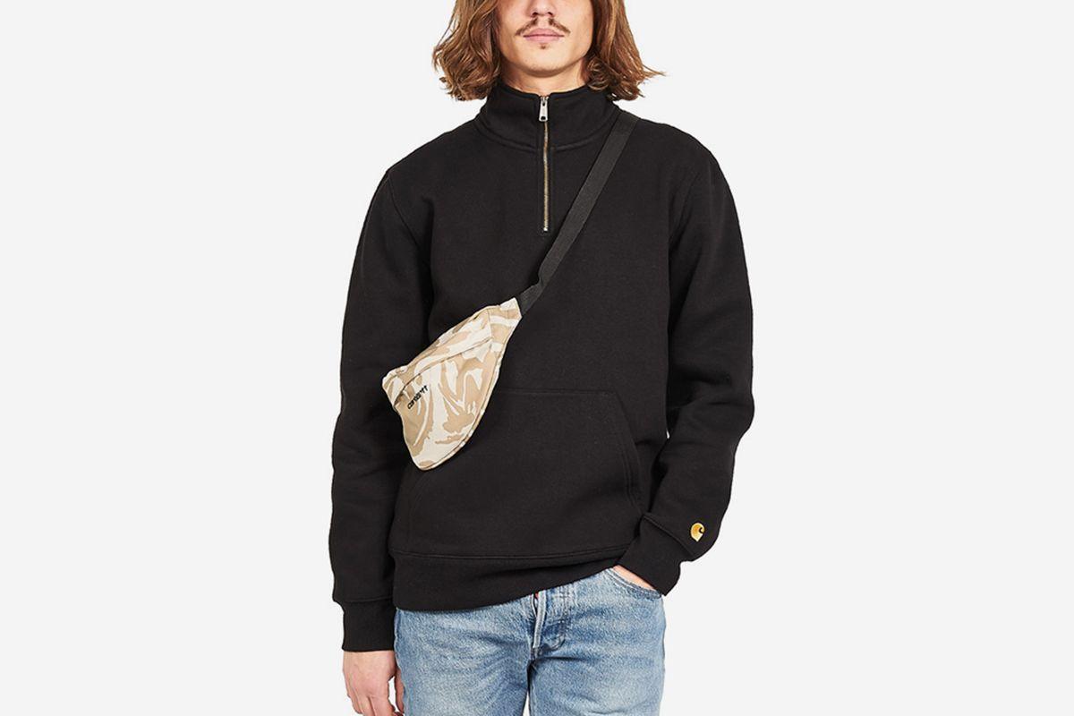 Neck Zip Sweater