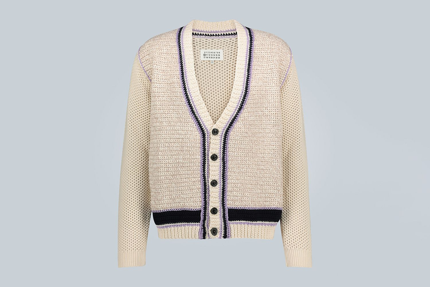 Knitted Cotton-Blend Cardigan