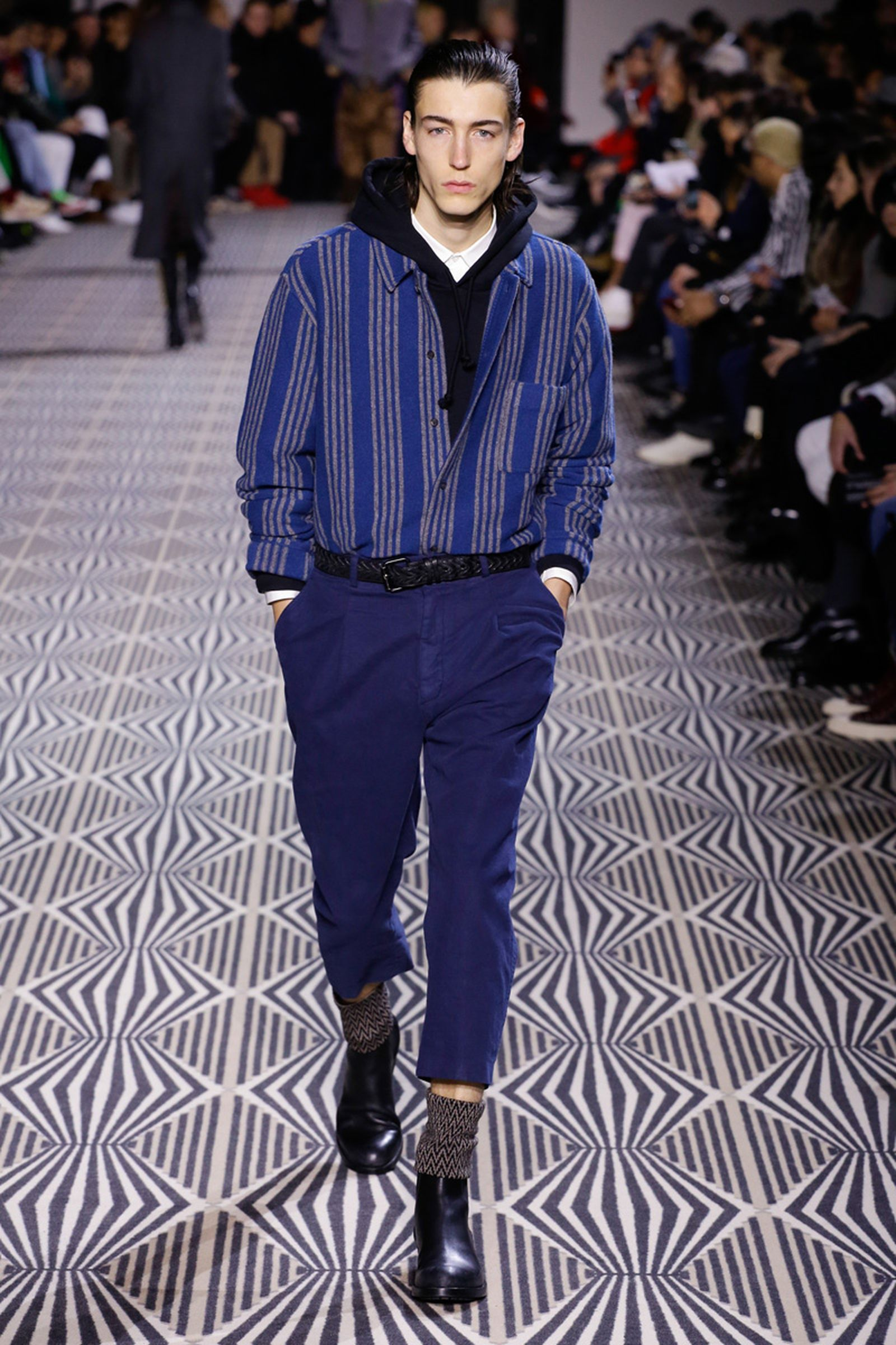 Haider AckermannMenswear Fall Winter 2018 CollectionParis Fashion Week runway