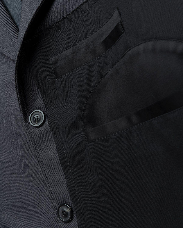 Maison Margiela – Memory Of Twill Coat Dark Grey - Image 5