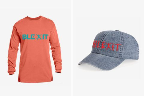 kanye west blexit merch Travis Scott lebron james