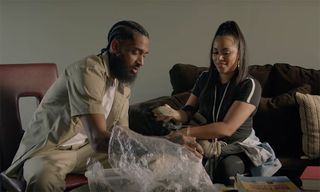 "Lauren London Stars in Nipsey Hussle's ""Double Up"" Video ft. Belly & Dom Kennedy"