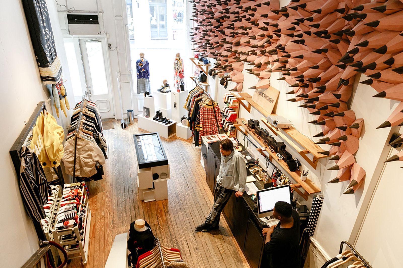 Henrik Vibskov NYC Clothing Stores AMEX american express platinum fashion