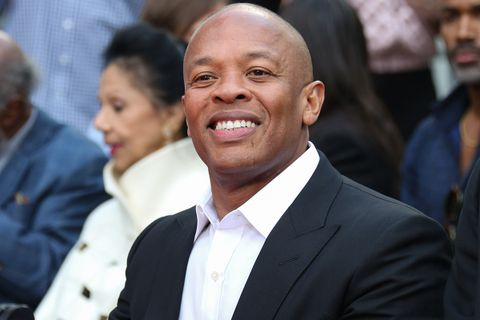 Dr. Dre attends the Quincy Jones Hand and Footprint ceremony