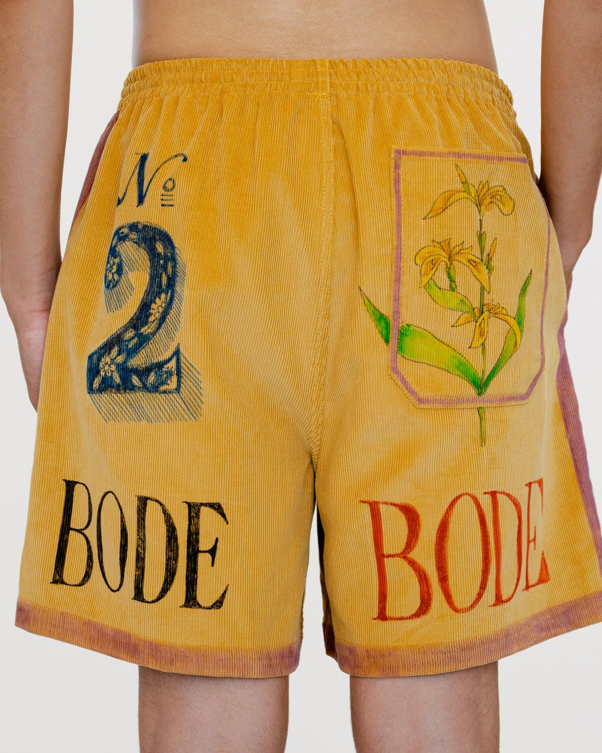 BODE - Senior Cord Rugby Shorts - Image 2