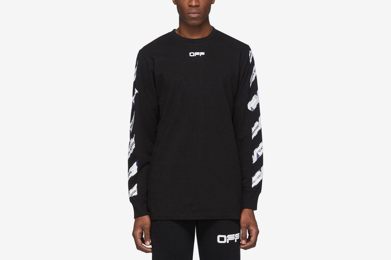 Airport Tape Long Sleeve T-Shirt