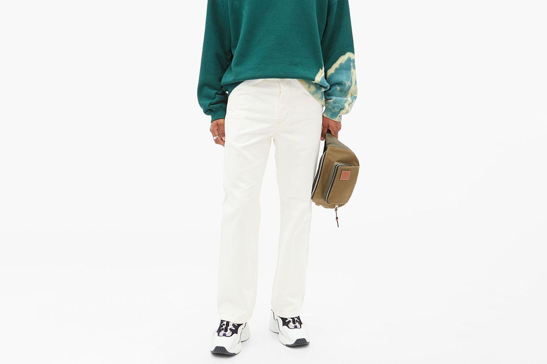Aleq Cotton Straight-Leg Trousers