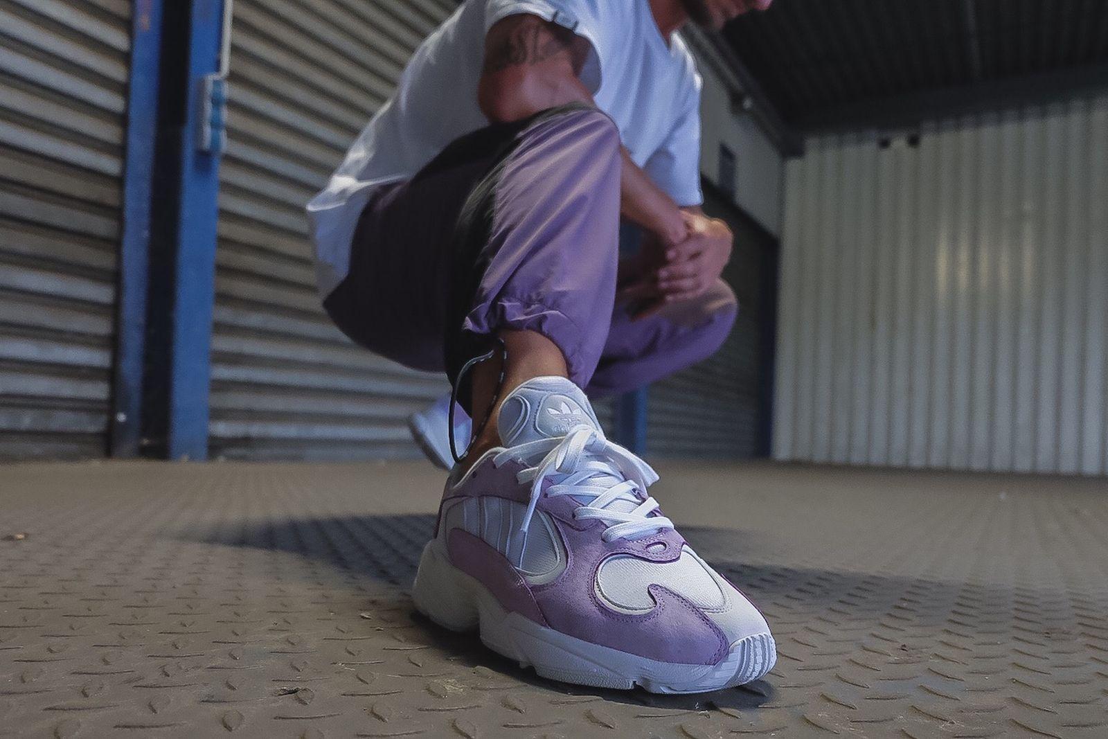 adidas yung 1 purple grey release date price info Custom Sneakers Nike