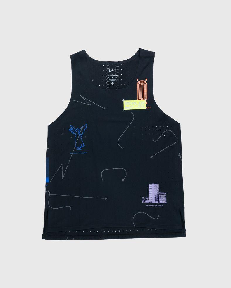 Nike x Highsnobiety – Mens Dri-Fit Berlin Aeroswift Singlet Black