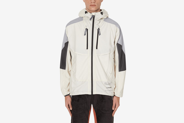 Raschel Rip Shell Hooded Jacket