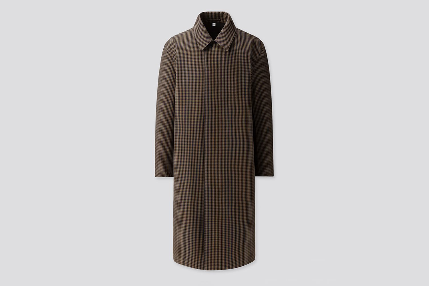 Blocktech Single-Breasted Coat