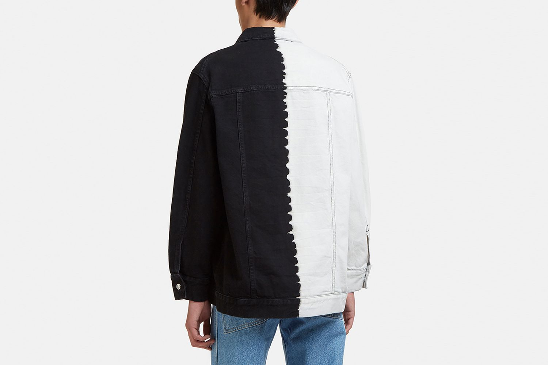 Two Tone Denim Jacket