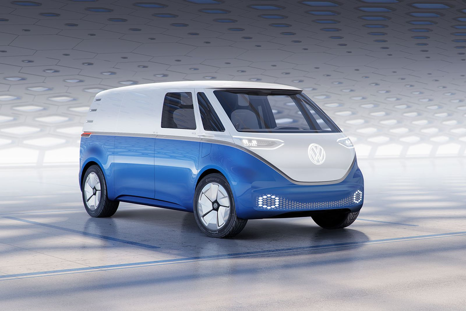 volkswagen id buzz cargo fully electronic I.D. Buzz Cargo