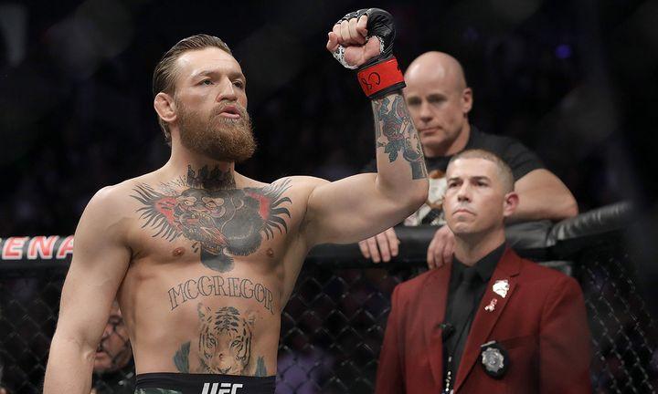 Conor McGregor UFC fight