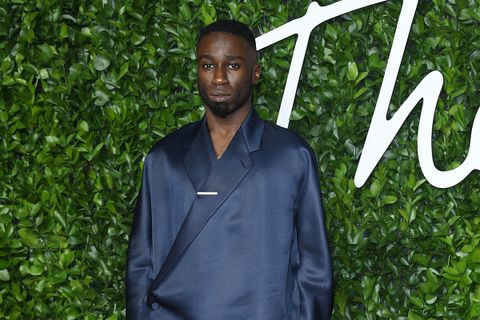 Kojey Radical at the Fashion Awards