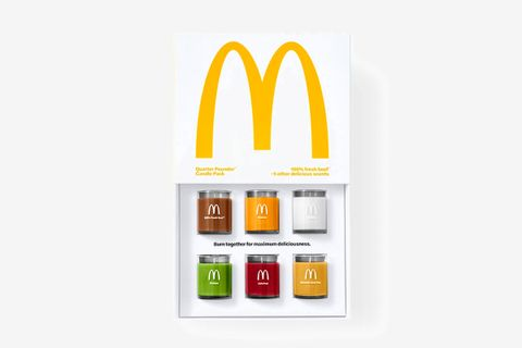 McDonald's selling limited-edition set of scented candles