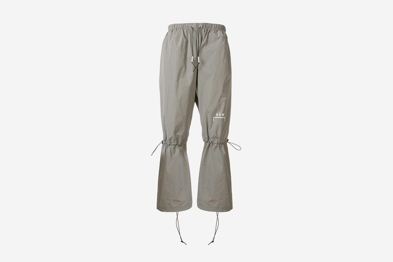 Drawstring Knee Pants