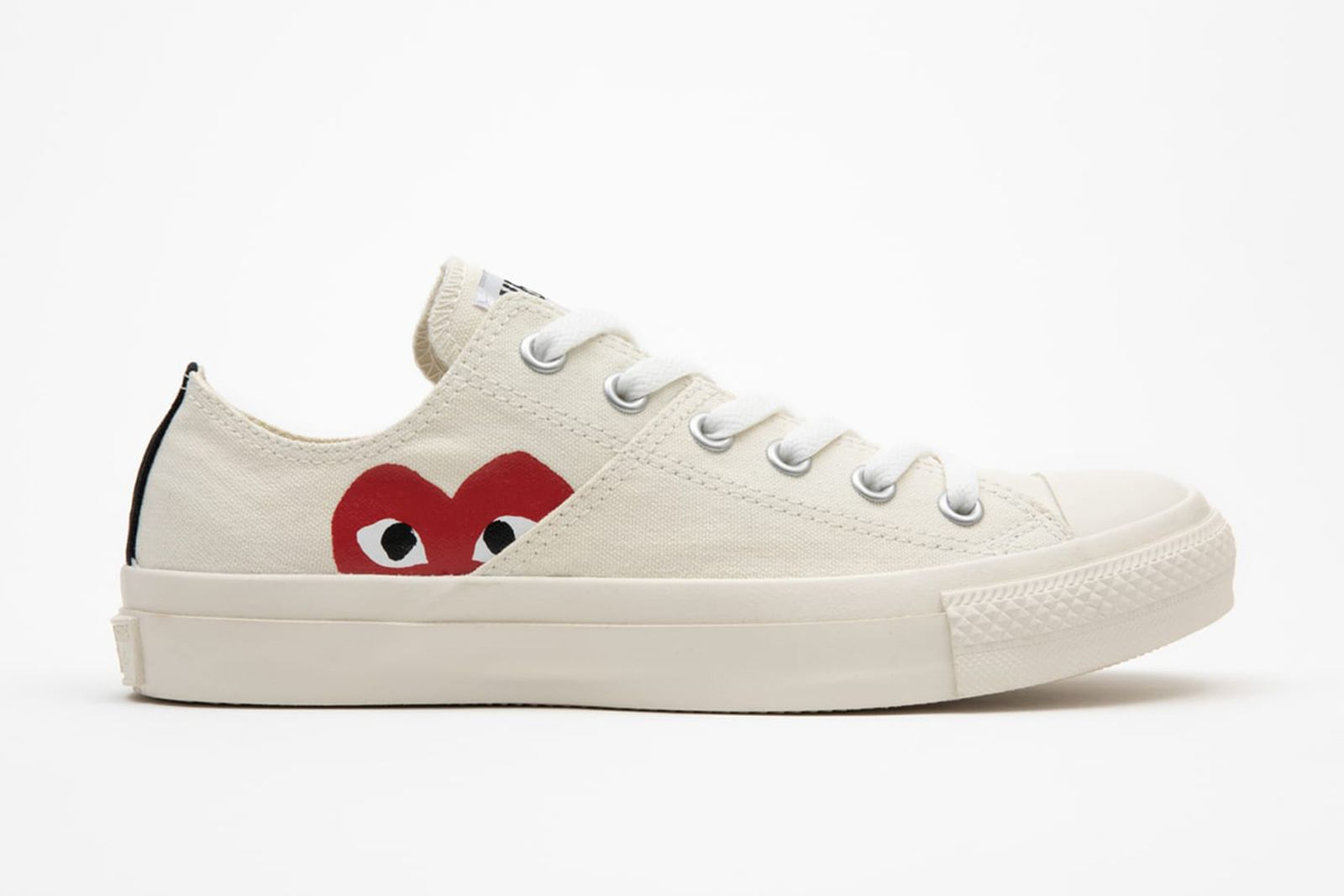 cdg play converse chuck taylor all star 70s comme des garcons heart fw21 fall winter 2021 hiding heart logo print price info buy colorway